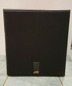 """New JVC 100 Watt Powered Subwoofer SP-PWA-450 With 10"""" Speaker NOT TESTED"""
