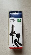 Iphone In Car Charger *Iphone 3 & 4, sealed, New, UK Seller*