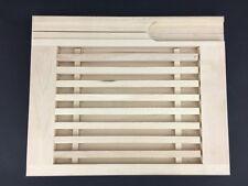 Colector de miga de pan Board con soporte de cuchillos de madera de haya woodeeworld