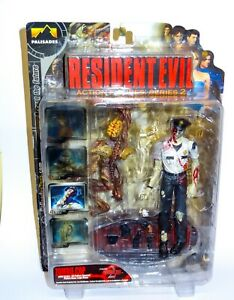 Resident Evil 2 Series 2 Zombie Cop with Licker 7 inch Action Figure Boxed Rare