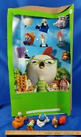 2005 Chicken Little Movie McDonald's Happy Meal Store Display Toys Set VTG Rare