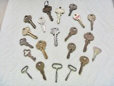 Lot 17 keys old Russwin Chicago Lock Briggs Stratton Reese ILCO ZABCIK