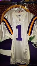 WARREN MOON #1 MINNESOTA VIKINGS STARTER PRO-LINE JERSEY NEW 1990'S SIZE 44