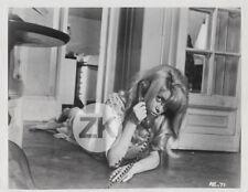 CATHERINE DENEUVE Oeil Schizophrène ROMAN POLANSKI Télephone Tournage Photo 1965