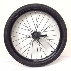 "20"" Rear Bicycle Black Wheel, Coaster brake with 2.1"" Tire Bmx Bike #N2"