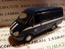 RUS41 Voiture 1/43 IXO déagostini RUSSE URSS : GAZ 2705 GAZelle fourgonette bleu