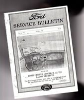 1933/1934 FORD V-8 Radio Installation / Wiring / Owners Manual: Model 40-18805-E