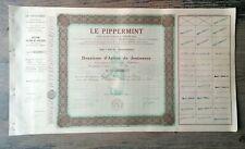 LOT 5 ACTIONS LE PIPPERMINT GET  REVEL HAUTE GARONNE1934