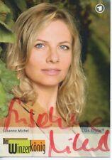 Autogramm - Susanne Michel (Der Winzerkönig)