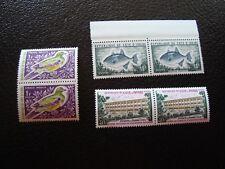 COTE D IVOIRE - timbre yvert et tellier n ° 249 335 354 x2 n** (Z3) stamp