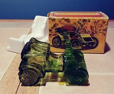 Avon Haynes Apperson 1902 Tai winds aftershave Empty Green bottle original box
