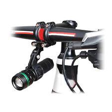 Bike Stem Front Bicycle Light Holder Mount Adapter Kit fr GoPro Xiaomi Yi SJ Cam