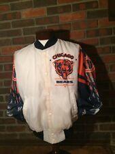 Vintage Chalk Line Fanimation Jacket Chicago Bears NFL Medium Small