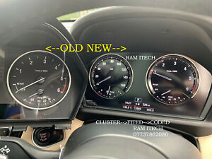 BMW 1 F20/F21 & 2 F22/F23 SERIES CLUSTER 6WB BLACK EDITION CLUSTER+FITED+CODED