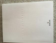 Rolex Oyster Perpetual Armbanduhren - Katalog Prospekt Brochure Preisliste Neu
