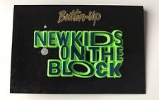 Blue and Green New Kids on the Block Pin: Brand New, Vintage Stock