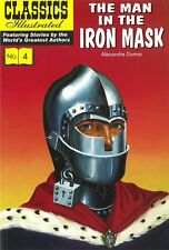 UK Classics Illustrated #4 - Man in the Iron Mask - January 2009, new copy!