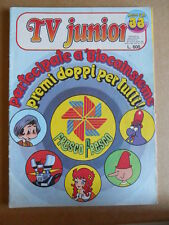 TV JUNIOR n°33  1981 Pinocchio Panebarco - Mazinga Z -  ERI RAI  [G419A]