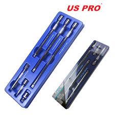 US Pro by Bergen Tools 6pc 3/8'' DR Extension Bar Set Drive Extension Bars | Pro