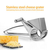 Stainless Steel Cheese Grater Shredder Vegetable Cutter Grinder Kitchen Tool