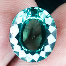 7.20CTS TOP QUALITY CLEAN SRILANKA NEON GREEN NATURAL SAPPHIRE