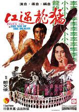 Incorniciato BRUCE LEE MOVIE Print -- la via del drago 1972 cinesi versione (MMA)