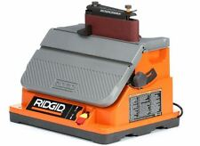 RIDGID Oscillating Edge/Belt Spindle Sander Lock On Switch Power Work Tools Home
