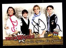 Trenk Walder Autogrammkarte Original Signiert ## BC 77970