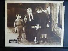 1921 THE RENT COLLECTOR - NICE LOBBY CARD - SILENT COMEDY SHORT - LARRY SEMON
