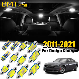 17X Canbus Interior LED Lights Package Kit For Dodge Charger 2011-2021 +TOOL