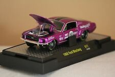 Ford Mustang 1968 Fastback M2 Auto Mods 1/64 Purple