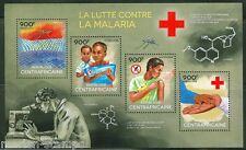 Central Africa 2014 Battle Against Malaria Sheet Mint Nh