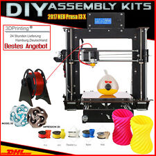 DE A8 3D Printer DIY i3 Upgradest High Precision Reprap Prusa 3d Drucker DHL