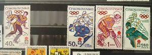 CSSR 1972 Olympische Spiele Sapporo MiNr2050-2053 **/MNH/Postfrisch