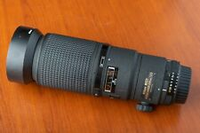 Lens Nikon AF MICRO NIKKOR 200mm f/4 D ED IF with Lens hood Nikon NH-24