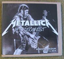 Metallica- By Request - Werchter Festival2014 - official Bootleg Live (2CDs)