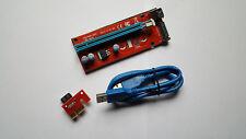 PCIE PCI-E USB 3.0 60CM Riser VER007S SATA - safest version