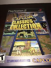 Capcom Classics Collection (Sony PlayStation 2, 2005)Complete-ORIGINAL-TESTED-