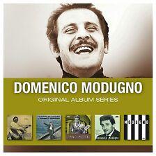 Domenico Modugno - Original Album Series (5 CD set)  Nuovo