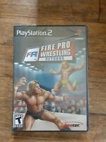 Fire Pro Wrestling Returns (Sony PlayStation 2, 2007) *NEW/SEALED/BLACK*