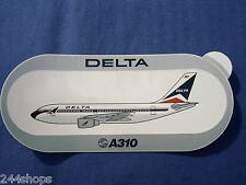 DELTA AIRBUS INDUSTRIE - A310 - STICKER - 3 1/2 x 8