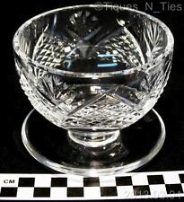 Vintage Waterford Cut Crystal Dunmore Footed Dessert Bowl Sherbet Dish (FF)