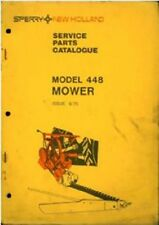 New Holland Mower 448 Parts Manual