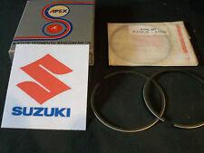 SUZUKI T500 GT500 GT750 PISTON RINGS +0.75mm (1) NEW Hepolite UK TS250