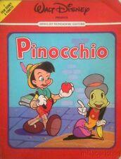 § I FILM DISNEY A FUMETTI - PINOCCHIO 1982  ED. MONDADORI