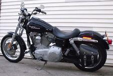 'Bobber Bracket' Solo Bag Hard Mount Kit-Harley Super Glide, FXDB, FXDF, FXD