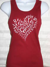 NEWTG American Apparel yoga HEART 3308 beater tank top