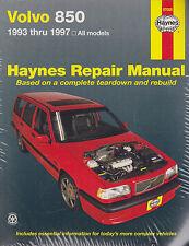 1993-1997 Haynes Volvo 850 Repair Manual