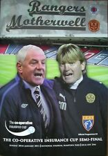 Rangers v Motherwell 30/01/11 CoOperative Cup SemiFinal