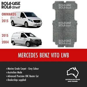 Mercedes Benz Vito LWB - Genuine  Flooring Marine Grade Carpet Advanced CNC Cut